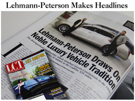 Lehmann-Peterson in the News